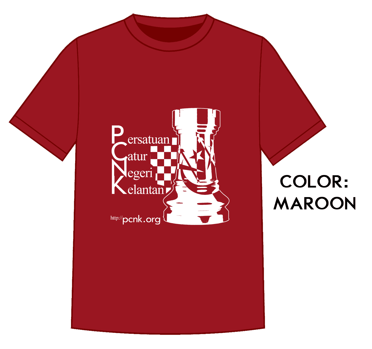 Tempahan Baju PCNK 2017
