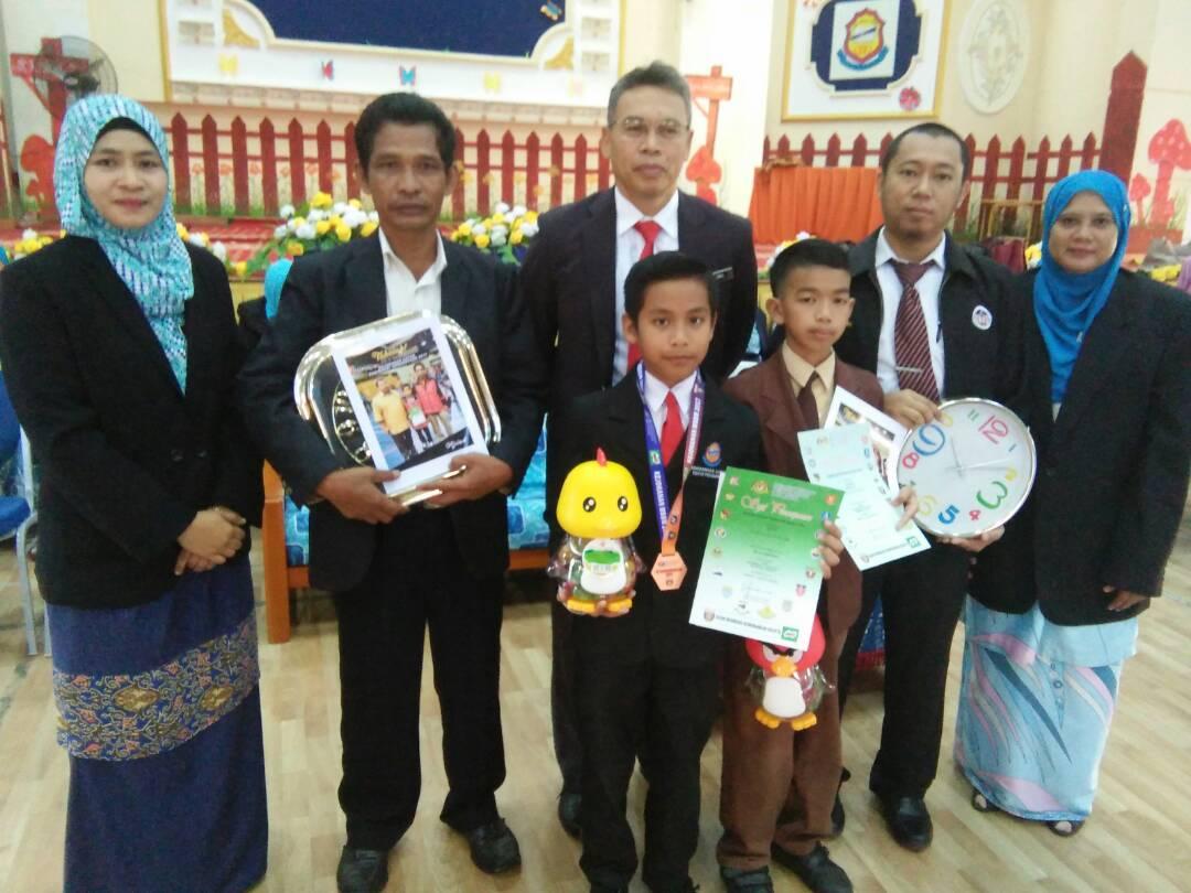 Ajwad, Arifi dan Cikgu Saufi terima penghargaan