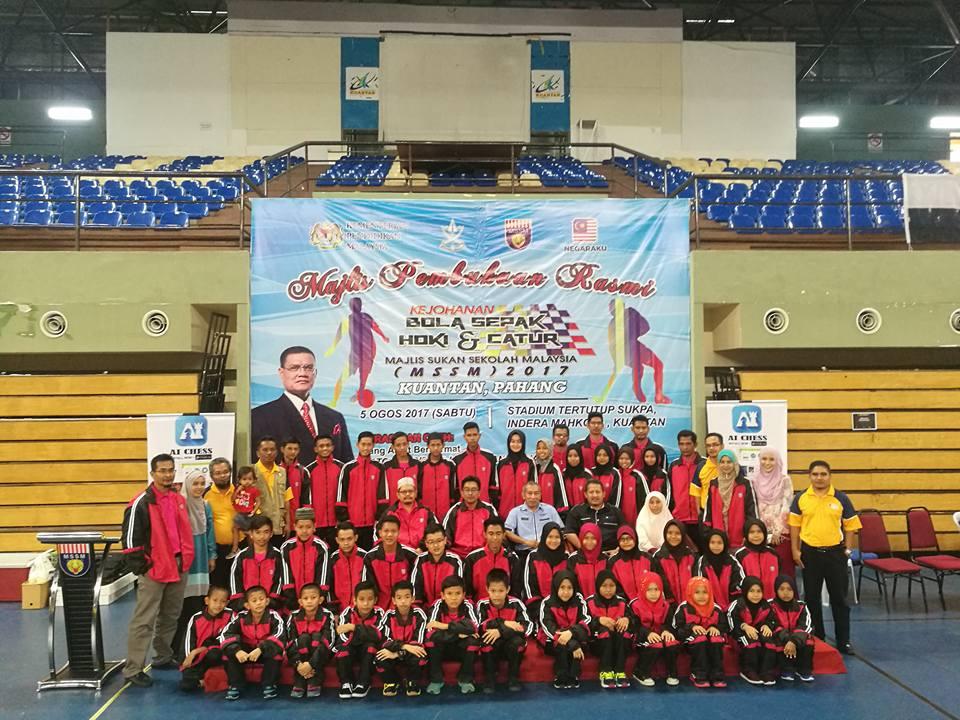 Selamat Berjuang Atlet MSSK di Kejohanan MSSM 2017