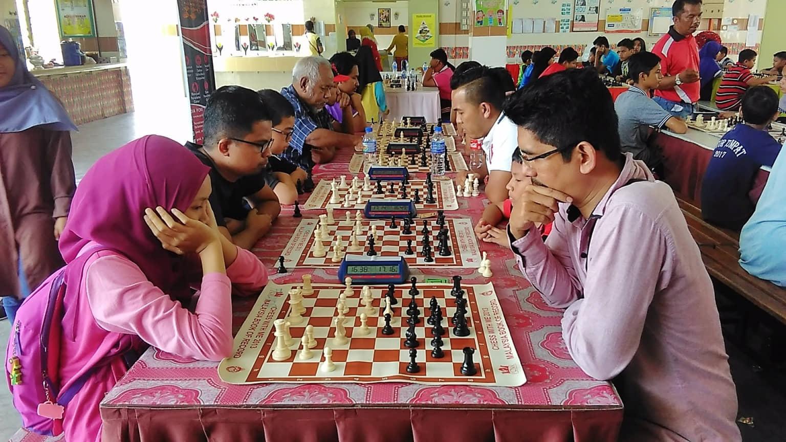 Baharuddin Kuasai Kejohanan Catur Minggu Perpaduan Kelantan