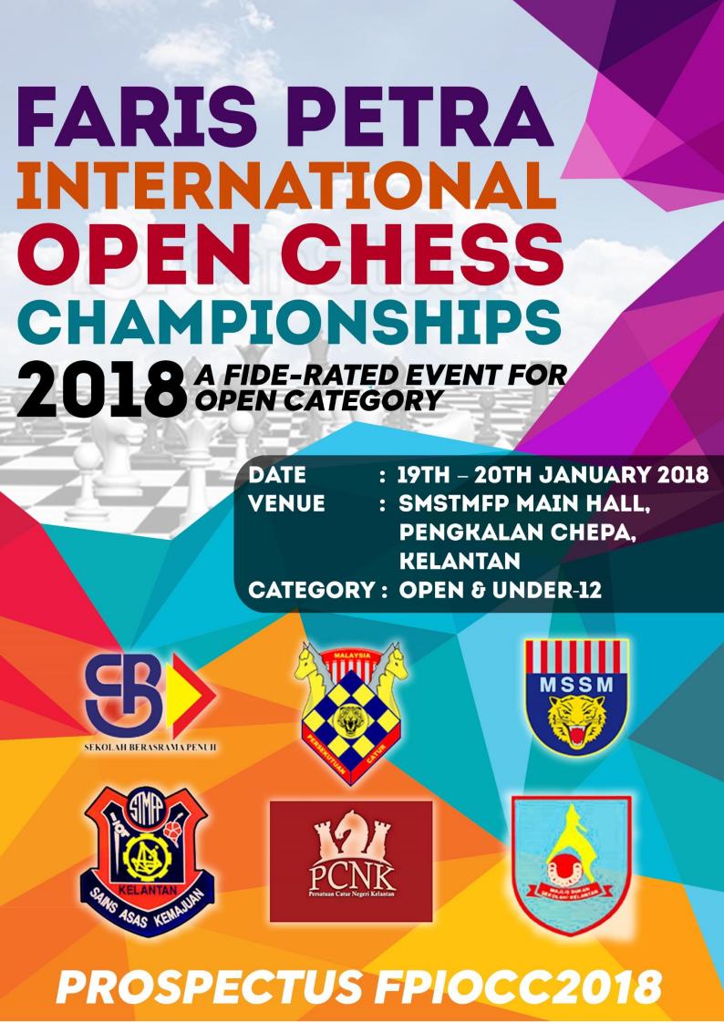 Kejohanan Catur Terbuka Faris Petra Open (FIDE Rated)