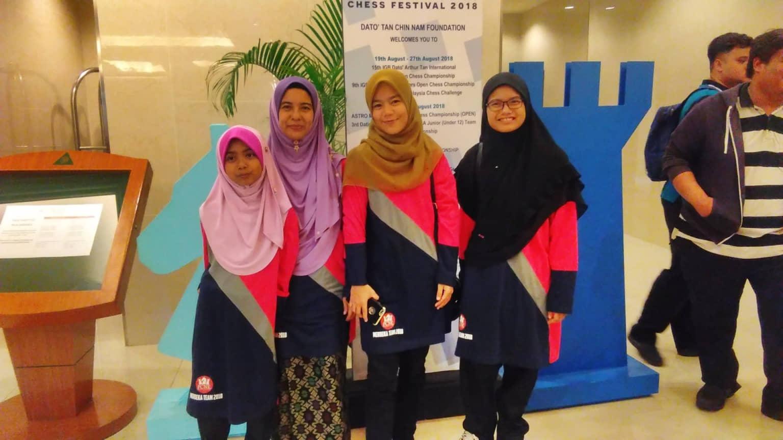 Pasukan Kelantan di Kejohanan Berpasukan Merdeka ASTRO