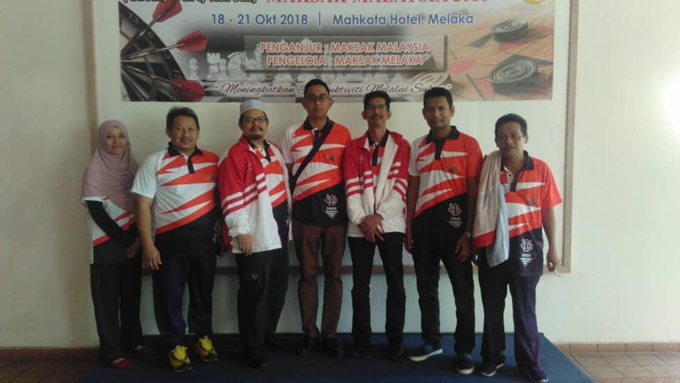 Pasukan Kelantan di Kejohanan MAKSAK Melaka