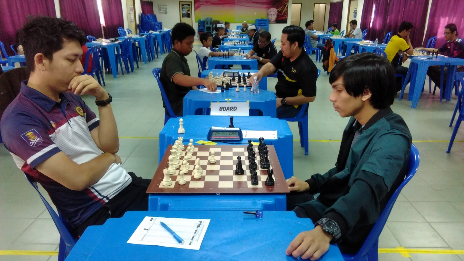 Farouqi Juara Berganda FIDE Rated FCK 2019