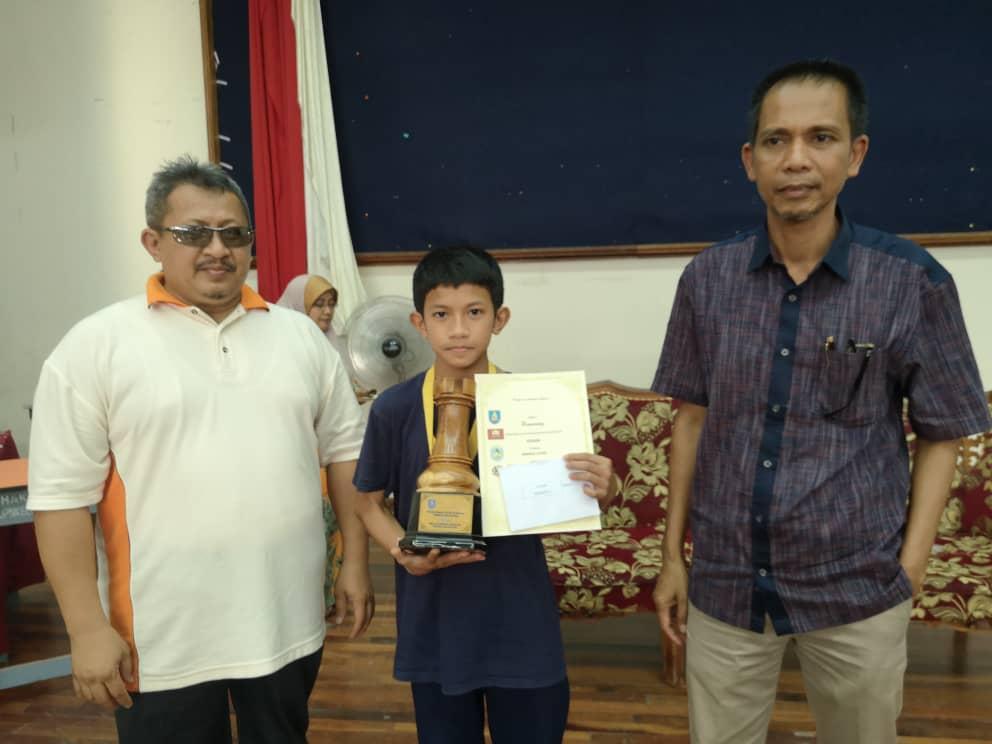 Faiz, Nadzirah Juara Remaja Kelantan
