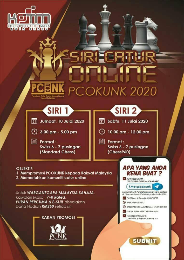 Kejohanan Catur (Online) PCOKUNK